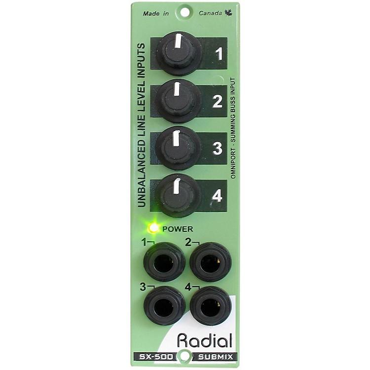 Radial EngineeringSubMix 4x1 Line Mixer