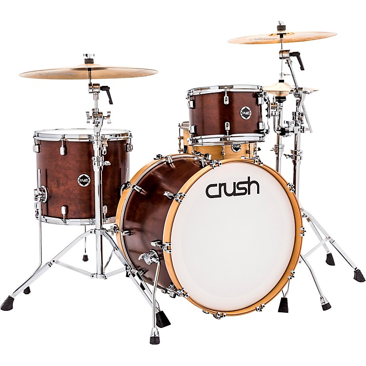Crush Drums & Percussion Sublime Birch 3-Piece Shell Pack Satin Walnut