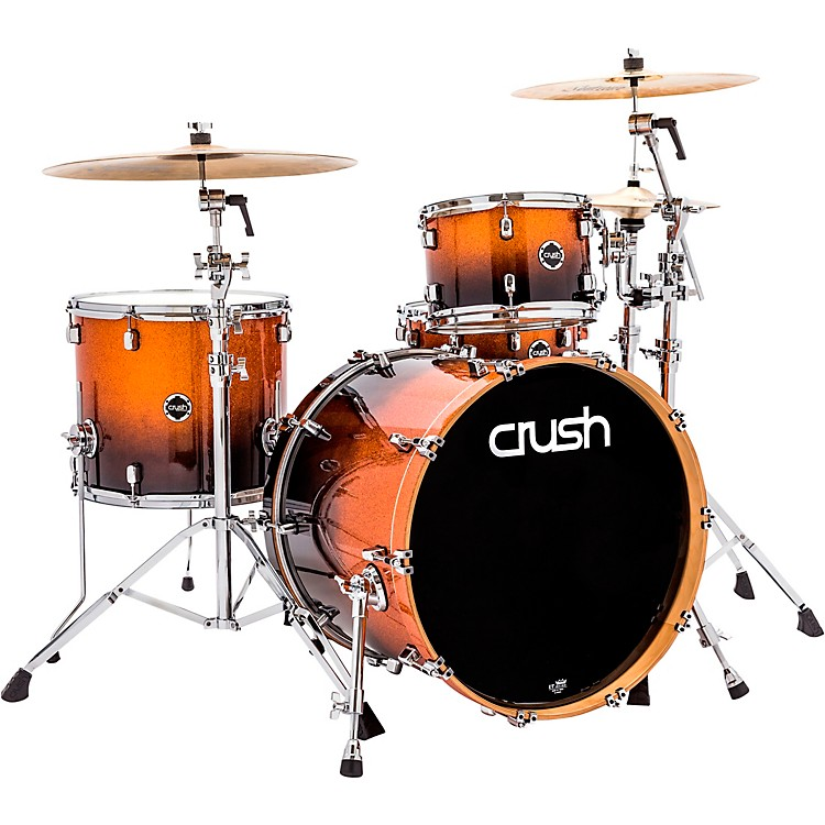 Crush Drums & PercussionSublime E3 Maple 4-Piece Shell Pack with 22x18