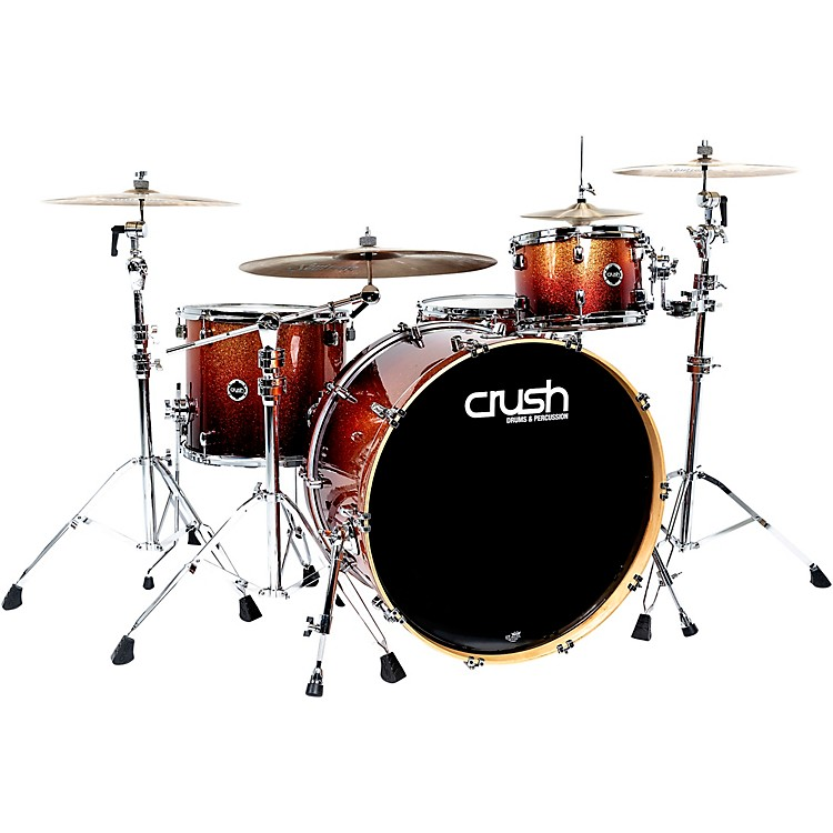 Crush Drums & Percussion Sublime E3 Maple 4-Piece Shell Pack with 26x15