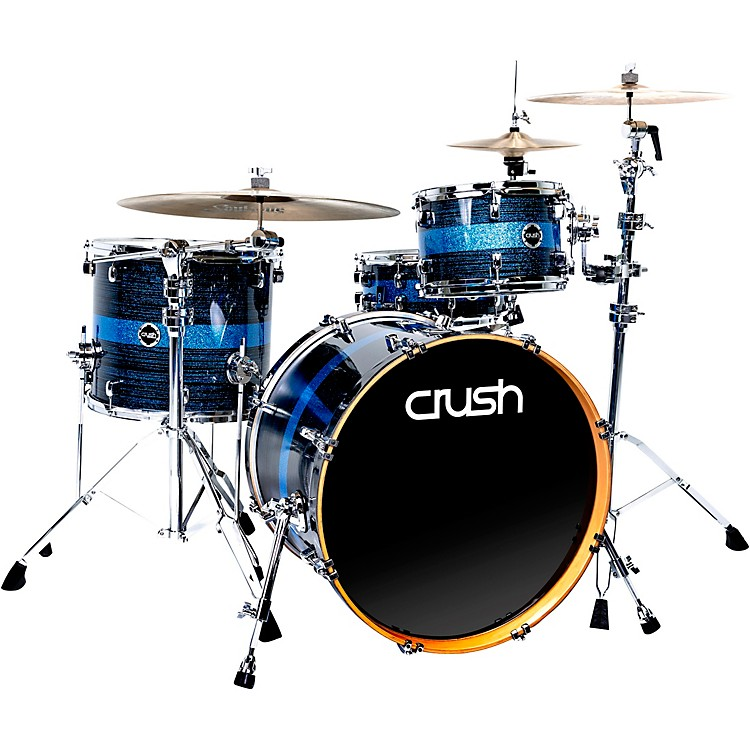 Crush Drums & PercussionSublime ST Maple 3-Piece Shell Pack with 22 in. Bass Drum