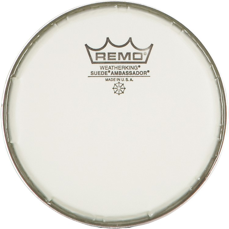 Remo Suede Ambassador Drum Heads 6 in.