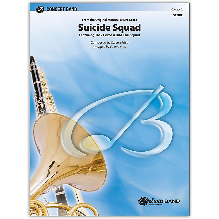 BELWIN Suicide Squad Conductor Score 3 (Medium Easy)
