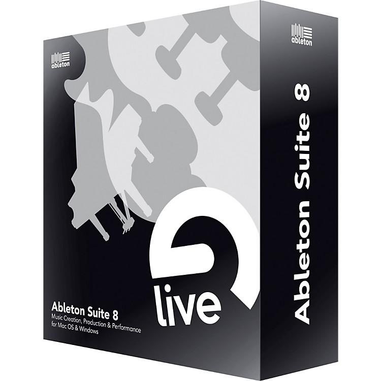 ableton suite 8 upgrade from ableton live lite music123. Black Bedroom Furniture Sets. Home Design Ideas