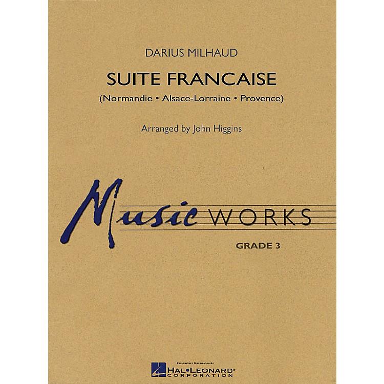 Hal LeonardSuite Francaise Concert Band Level 3 Arranged by John Higgins
