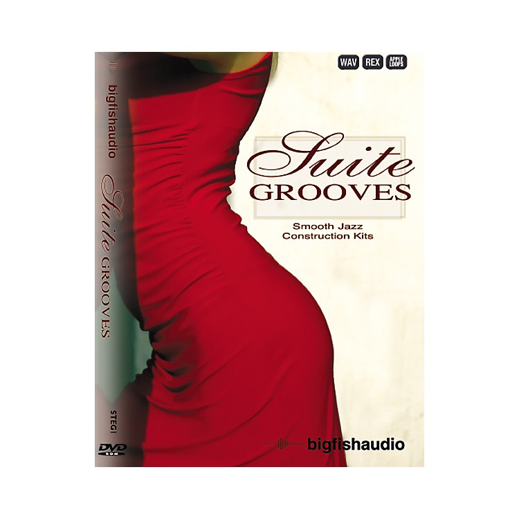 Big FishSuite Grooves Sample Library DVD
