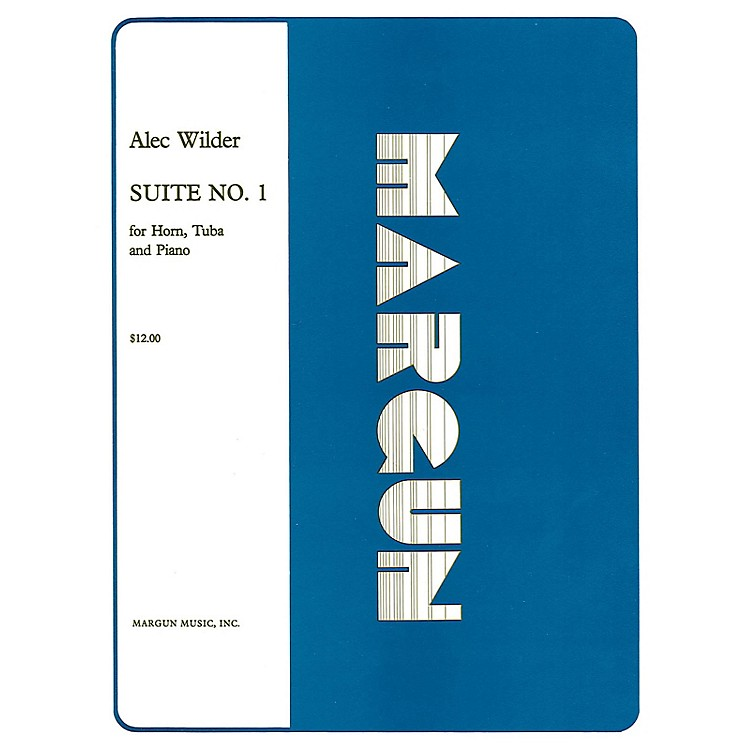 Margun MusicSuite No 1 for Horn, Tuba and Piano (Full Set) Shawnee Press Series Composed by Alec Wilder