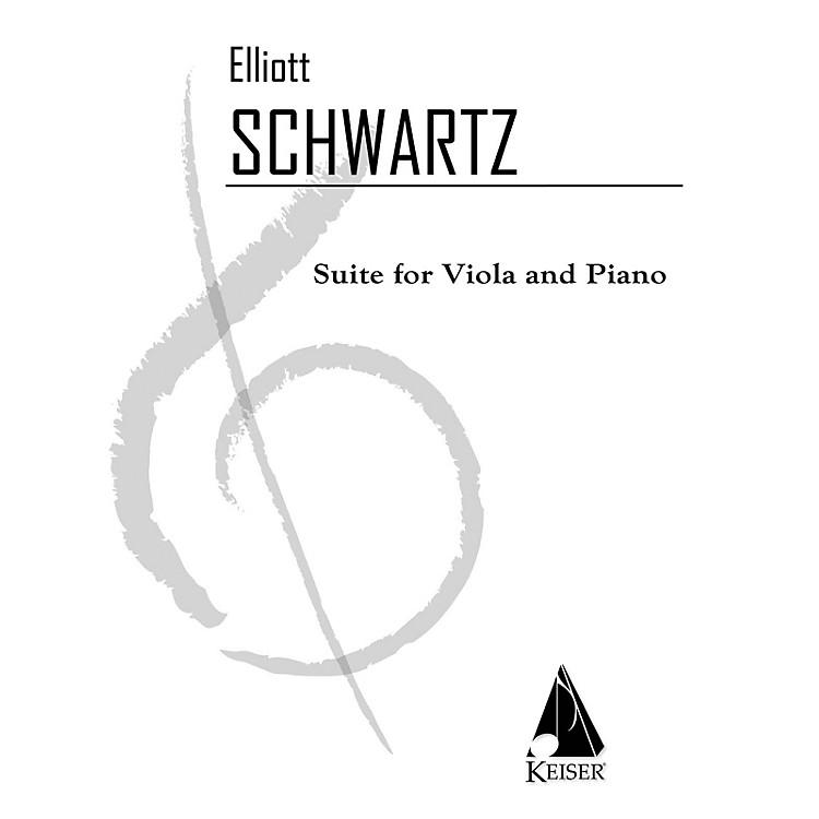 Lauren Keiser Music PublishingSuite (Viola with piano) LKM Music Series Composed by Elliott Schwartz
