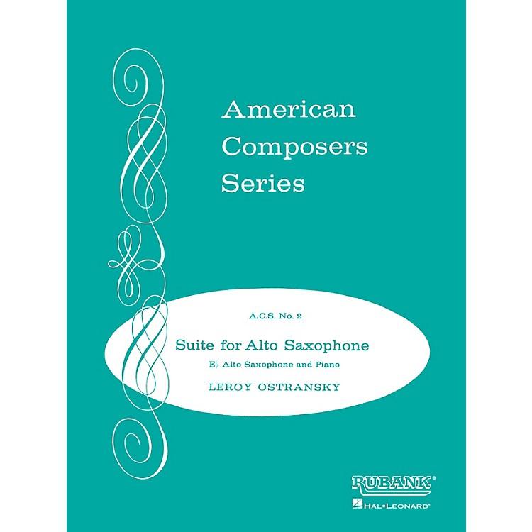 Rubank PublicationsSuite for Alto Saxophone (Grade 4) Rubank Solo/Ensemble Sheet Series