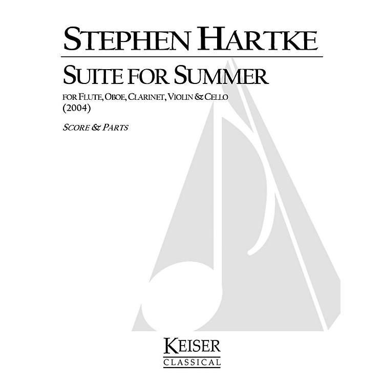 Lauren Keiser Music PublishingSuite for Summer LKM Music Series Composed by Stephen Hartke