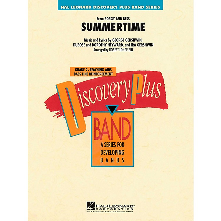 Hal LeonardSummertime (From Porgy and Bess)  - Discovery Plus Concert Band Level 2