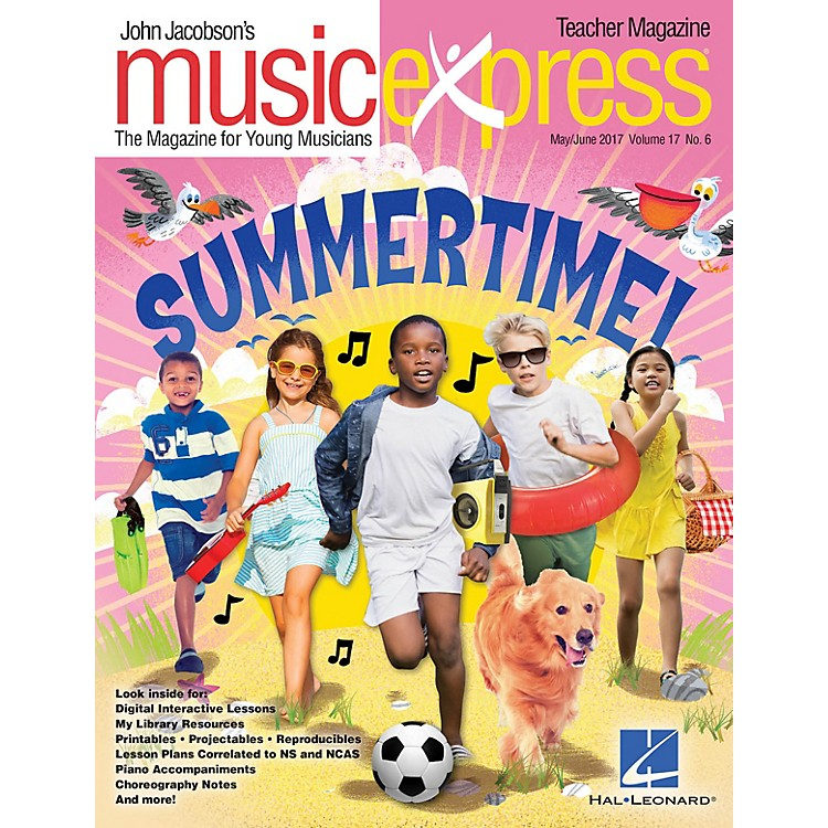 Hal LeonardSummertime Vol. 17 No. 6 (May/June 2017) PREMIUM PAK by Katy Perry Arranged by Emily Crocker