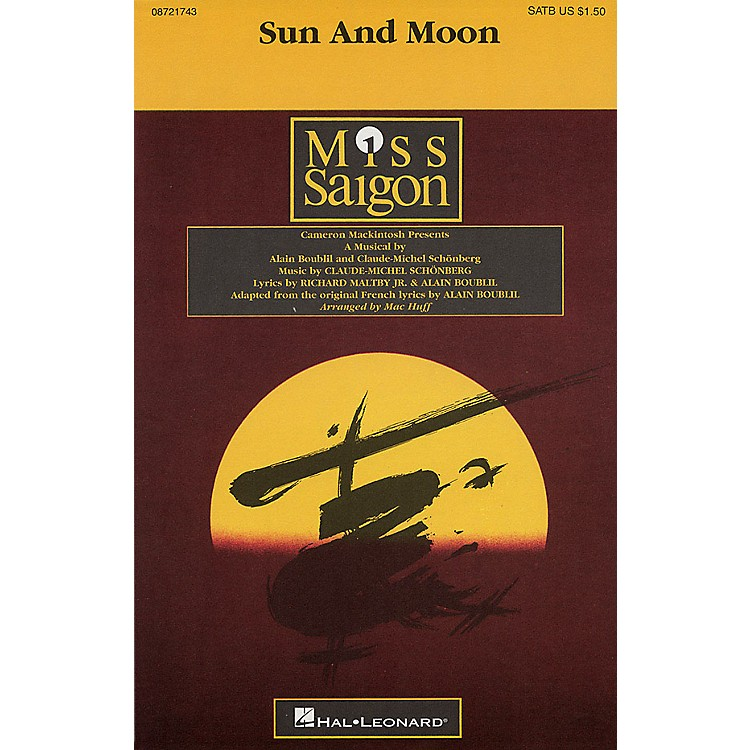 Hal LeonardSun and Moon SATB arranged by Mac Huff