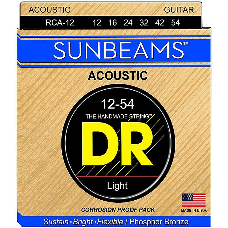 DR StringsSunbeam Phosphor Bronze Light Acoustic Guitar Strings