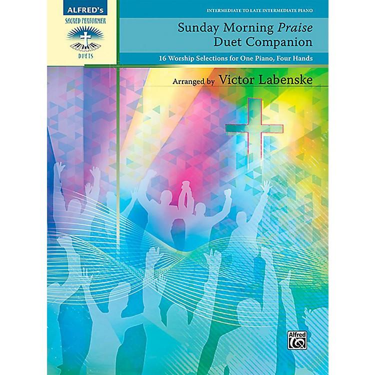 AlfredSunday Morning Praise Duet Companion - Intermediate / Late Intermediate