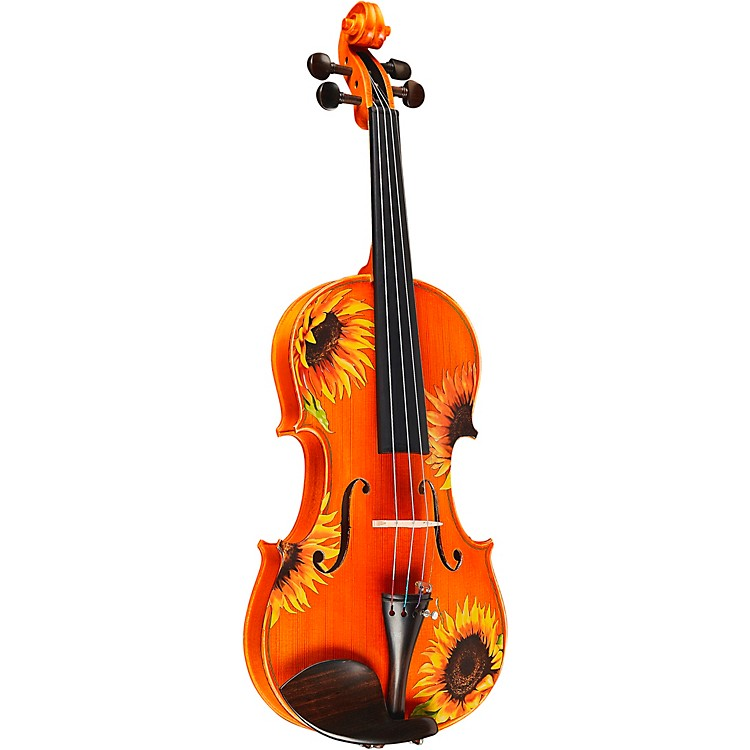 Rozanna's ViolinsSunflower Delight Series Violin Outfit1/2 Size190839047601