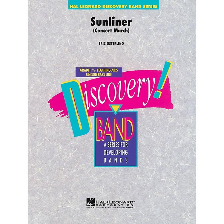 Hal LeonardSunliner Concert Band Level 1.5 Composed by Eric Osterling