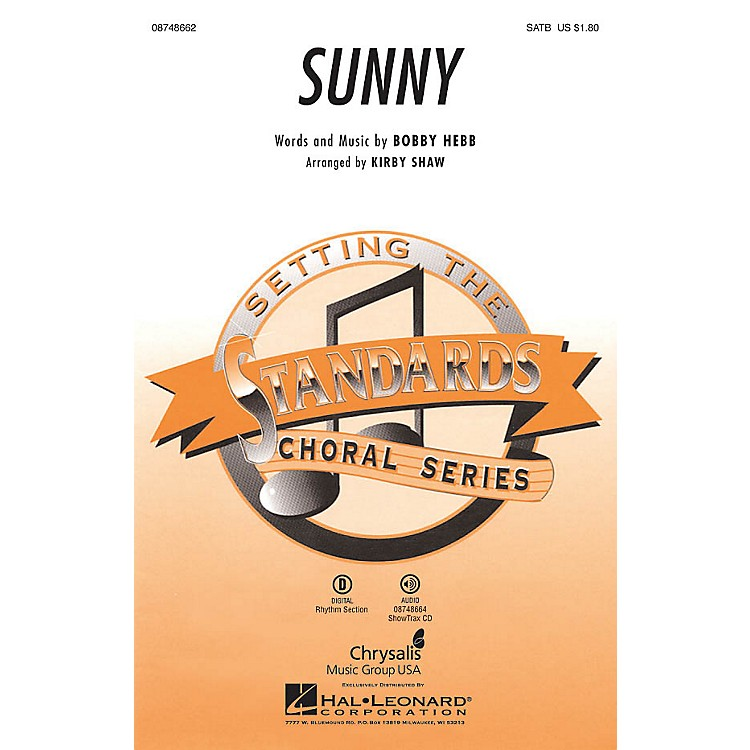 Hal Leonard Sunny SSA Arranged by Kirby Shaw