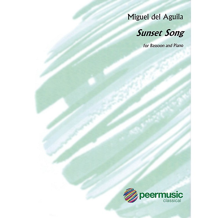 Peer MusicSunset Song (Bassoon and Piano) Peermusic Classical Series Book by Miguel del Aguila
