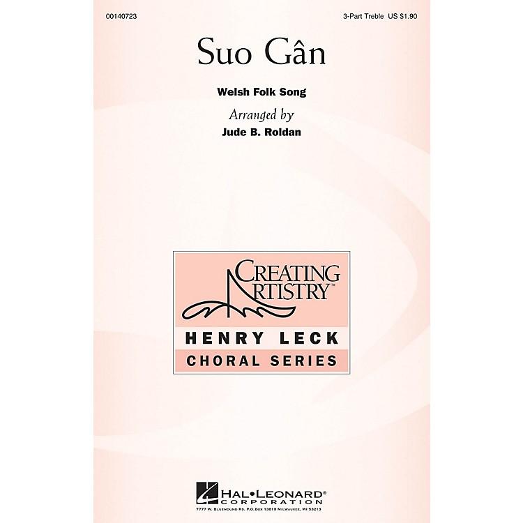 Hal LeonardSuo Gân 3 Part Treble arranged by Jude Roldan