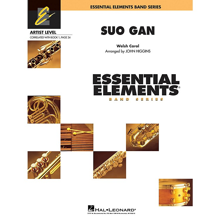 Hal LeonardSuo Gân (Includes Full Performance CD) Concert Band Level 1 Arranged by John Higgins