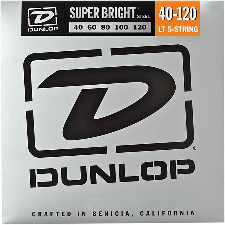 DunlopSuper Bright Steel Light 5-String Bass Guitar Strings