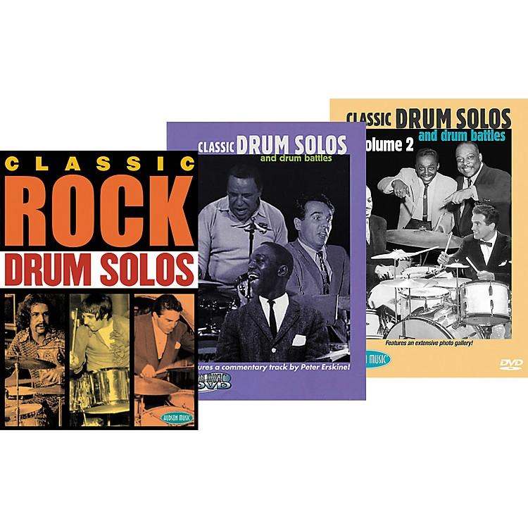 Hudson MusicSuper Classic DrumTrio DVD Pack