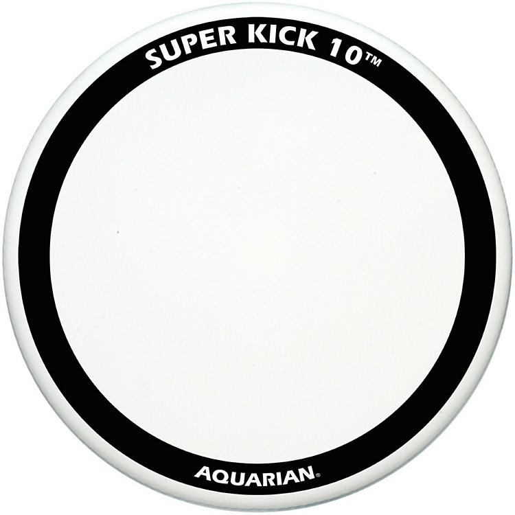 AquarianSuper-Kick 10 Bass Drum HeadWhite Coated20 in.