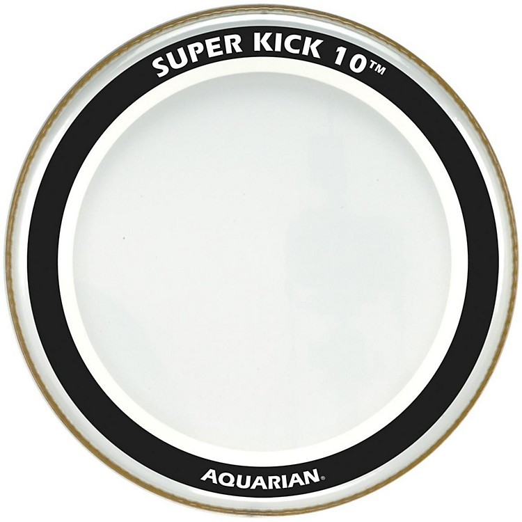 Aquarian Super-Kick 10 Bass Drumhead Clear 26 in.