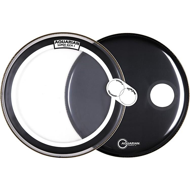 AquarianSuper Kick Bass Drum Head Pack, 22