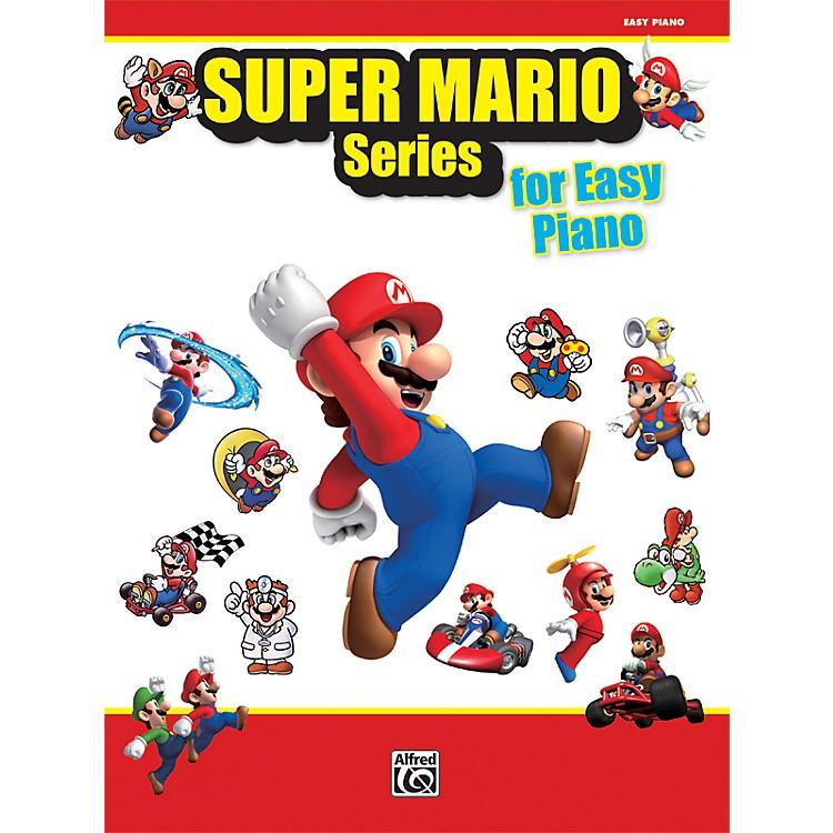 AlfredSuper Mario Series for Easy Piano Book