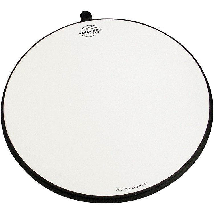 Aquarian Super-Pad Low Volume Drumsurface 14 in.
