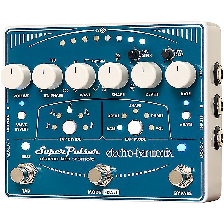 Electro-HarmonixSuper Pulsar Tremolo Guitar Effects Pedal