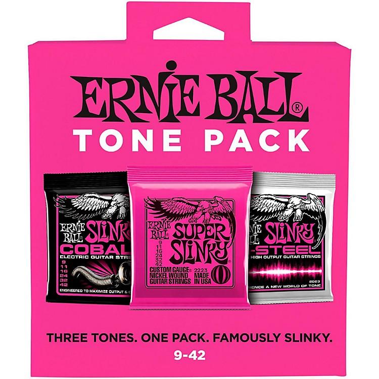 Ernie BallSuper Slinky Electric Guitar String Tone Pack