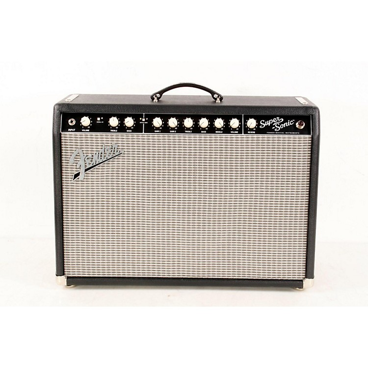 FenderSuper-Sonic 22 22W 1x12 Tube Guitar Combo AmpBlack888365664200