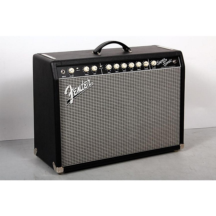 Fender Super-Sonic 22 22W 1x12 Tube Guitar Combo Amp Black 888365850887