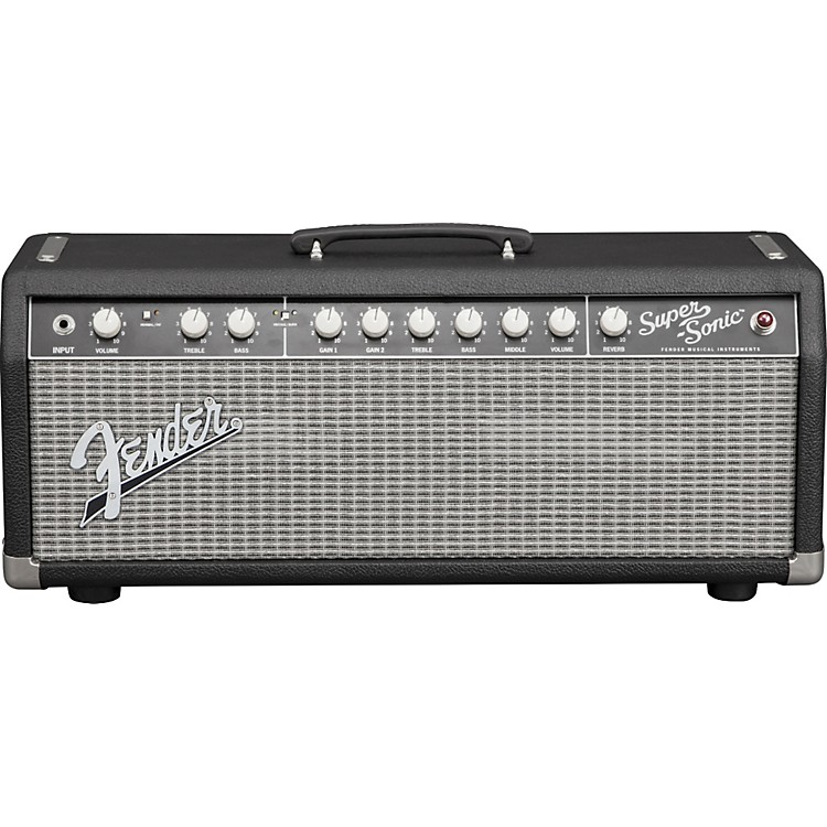 Fender Super-Sonic 22 22W Tube Guitar Amp Head Black