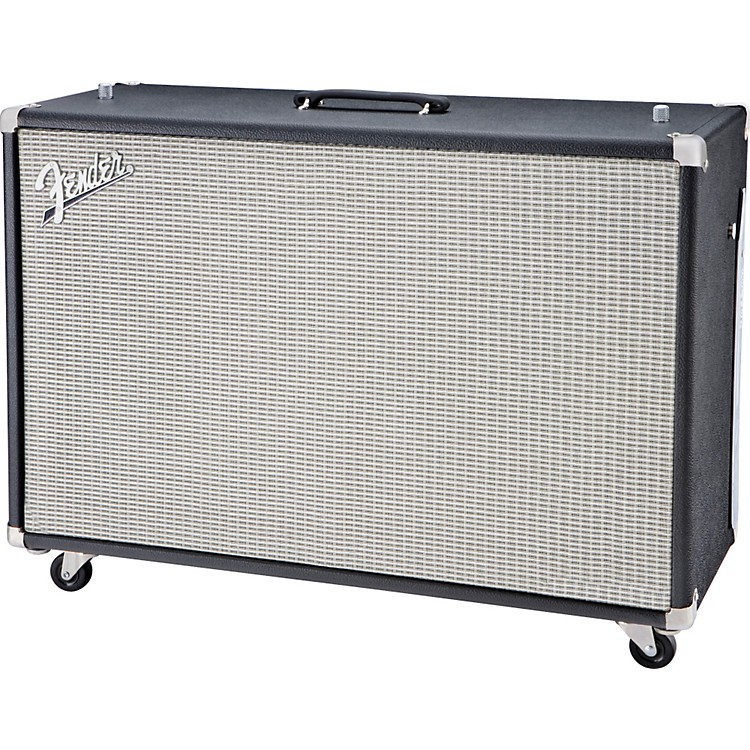 Fender Super-Sonic 60 60W 2x12 Guitar Speaker Cabinet Black Straight