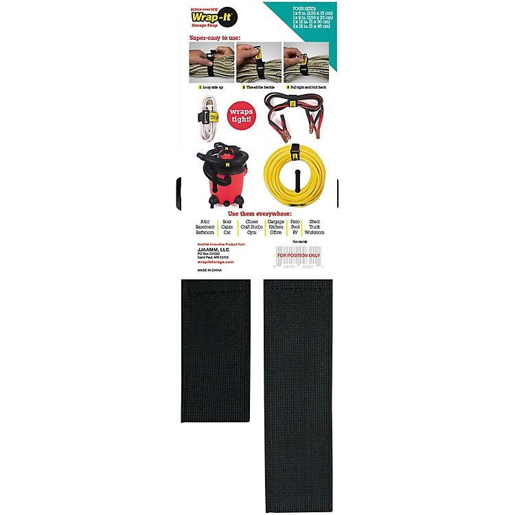 Wrap-It Storage StrapsSuper Stretch Assorted 4 Pk
