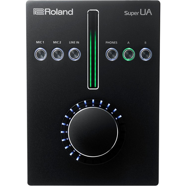 Roland Super UA Audiophile-Grade Interface for MAC and PC