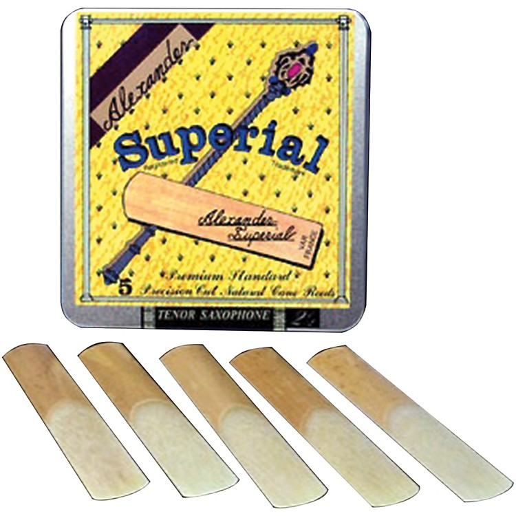 Alexander Reeds Superial Soprano Saxophone Reeds Strength 2