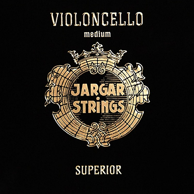 JargarSuperior Series Synthetic Core Cello String Set4/4 Size, Medium
