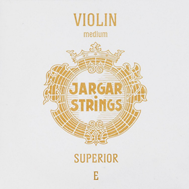 Jargar Superior Series Tin Plated Violin E String 4/4 Size, Medium
