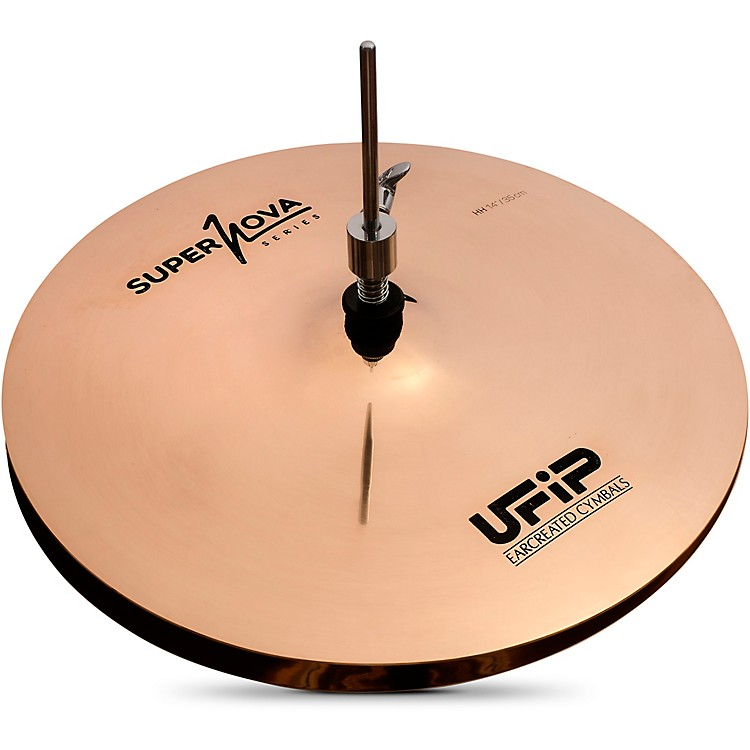 UFIP Supernova Series Hi-Hat Cymbals 14 in.