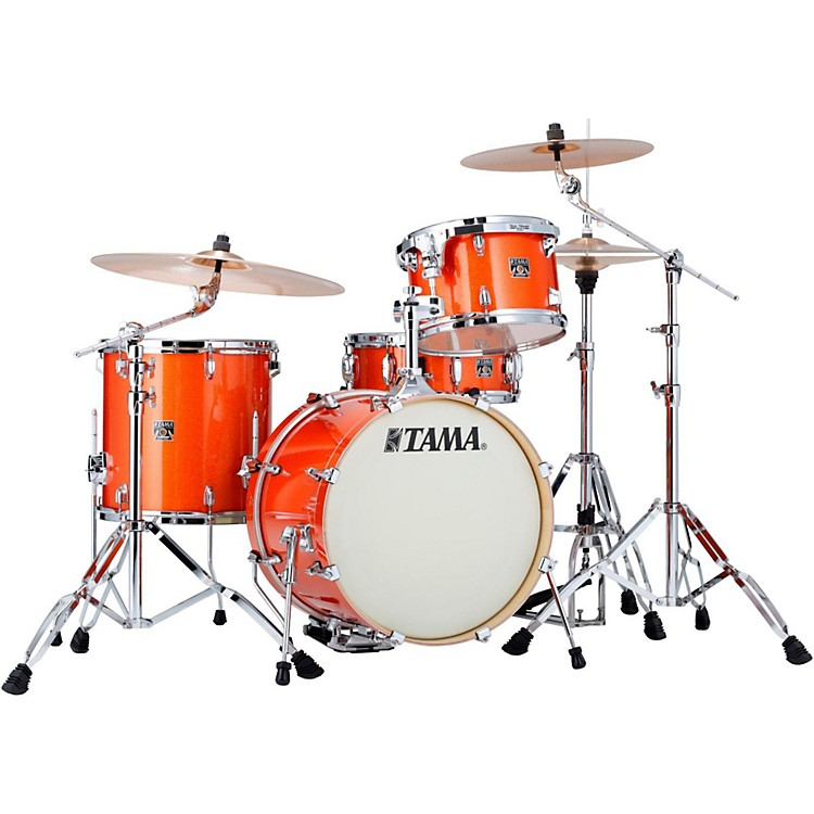 Tama Superstar Classic 4-Piece Jazz Shell Pack Bright Orange Sparkle