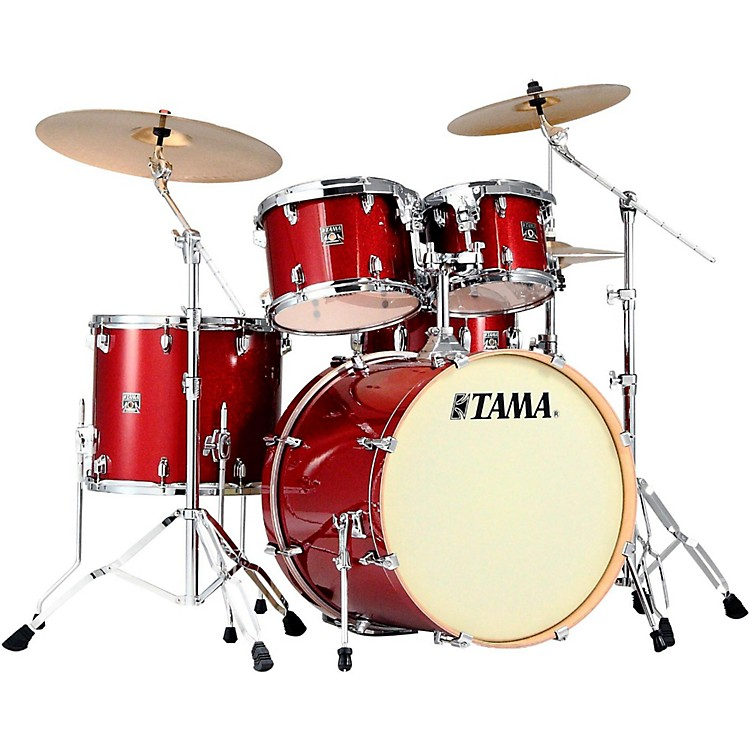 Tama Superstar Classic 5-Piece Shell Pack Red Sparkle