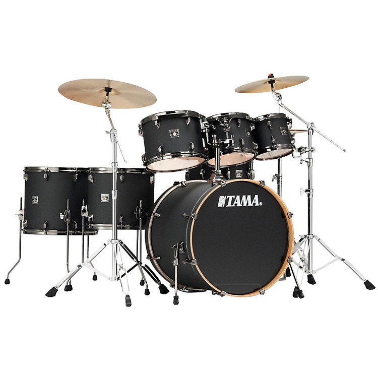 Tama Superstar Classic 7-Piece Shell Pack Galaxy Matte Black