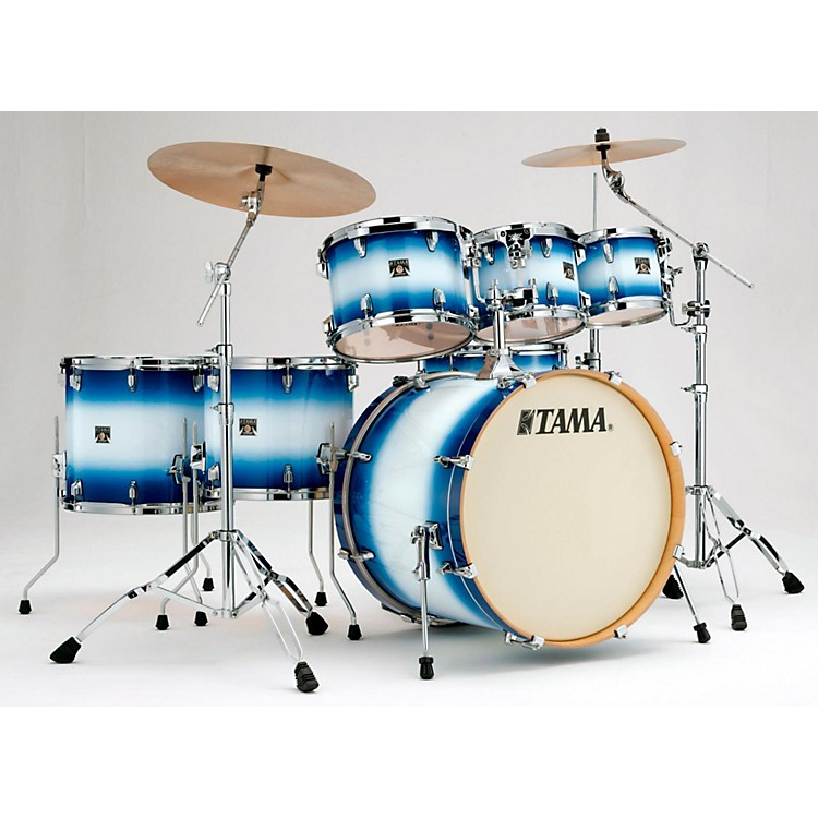 Tama Superstar Classic 7-Piece Shell Pack Jet Blue Burst