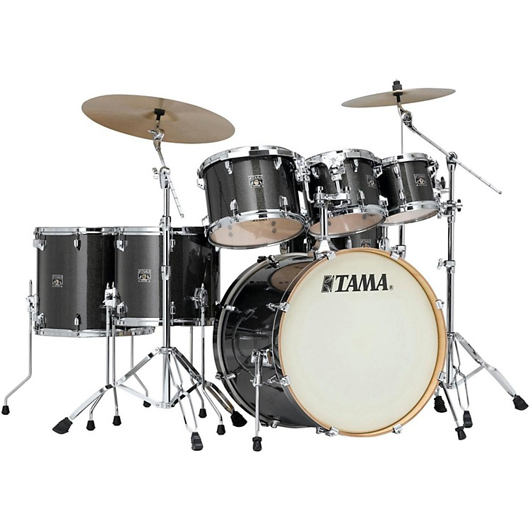Tama Superstar Classic 7-Piece Shell Pack Midnight Gold Sparkle