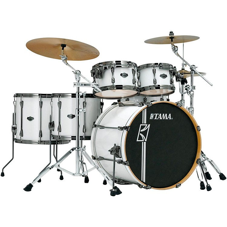 Tama Superstar Hyper-Drive Maple 6-Piece Shell Pack Sugar White